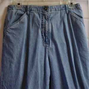 Christopher & Banks Womens Relaxed Blue Jeans Size